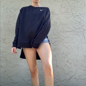 NWT Black Nike High-Low Oversize Comfy Long Sleeve